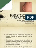 Protocolo embarazo