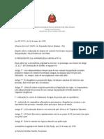 067_Lei Estadual SP n 9.975-98 -Balneabilidade