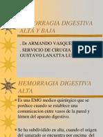 01. Hemorragias Digestivas Altas y Bajas