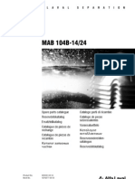 MAB104- Spare Parts Catalogue