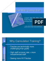 On Course With cannulation