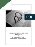 25. El primado de la oración y el anuncio de la Palabra de Dios -  Benedicto-XVI