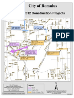 2012 Romulus Road Construction Projects