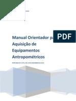 Manual Equipamentos 2012 1201