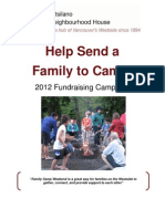 Donation Package - Family Camp 2012