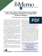 W.M. 2969 'Small Arms Treaty'