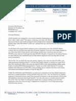 Romney Letter