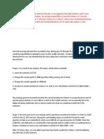 Dorm Project Report