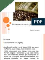 Processo de produção do café