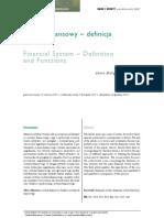 Funkcja i Struktura Systemu go