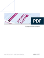strengthsfinder 2 0 report