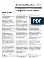 April 26, 2012 - The Federal Crimes Watch Daily