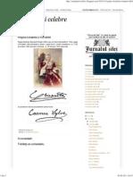 Semnaturi Celebre_ Regina Elisabeta a Romaniei