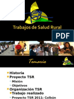 Presentación TSR 2012 para Medicina