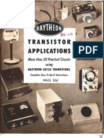 Raytheon Transistor Applications