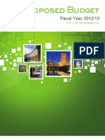 FY2012-13 Proposed Budget