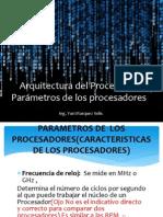 parametros procesadores