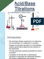 Acid Base Tit Rations