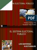 Sistema Electoral Publico