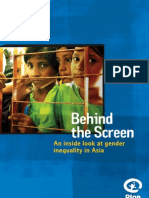 Behind the Screen - Gender Inequality in Asia