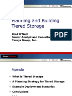 Tiered Storage Presentation -Storage Decisions