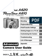 Canon PowerShot A620 A610 - Advanced Camera User Guide