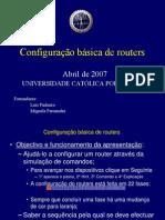 Configuracao Basica Router-config