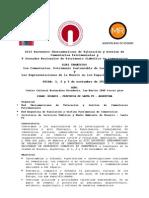 Convocatoria Oficial XIII Encuentro Iberoamericano y v Jornadas Argent in As de Cementerios
