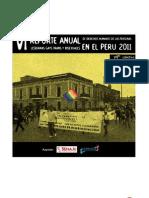 reporte DDHH LGTB perú 2011