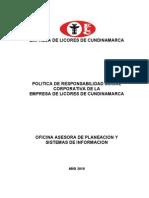 LICORERA CUNDI-RESPONSABILIDAD