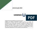 USIMINAS - DEMONSTRA