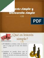 Interés simple y Descuento simple terminado