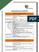 PROGRAMACIÓN CONFERENCIAS