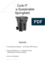 Springfield Trash Fee Presentation 04.26.2012