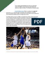 La FIBA Ha Modificado Las Reglas Del Basketball Que Ahora Se Asemejan Mucho a Las Ya Existentes en La NBA