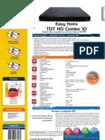 Ficha EHome TDT HD Combo10