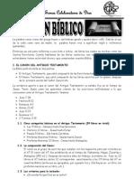 Canón bíblico