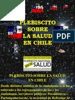 Plebiscito Sobre La Salud en Chile