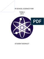 Senior Science Fair Student Booklet
