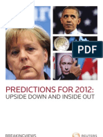 Predictions 2012 Thomson Reuters