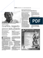 Elías Rodríguez Vázquez dice que seguramente en el Centro Històrico de Culiacàn persisten estas manifestaciones... 31 diciembre 2011 Expresión Noroeste.com Culiacán, Sinaloa, México.