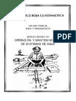 Manual de Operacion y Mantenimiento de Sistemas de Agua