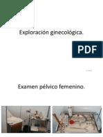 Exploración ginecológica