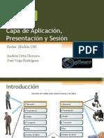 Capa de Aplicación Presentación y Sesión
