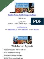 HFHP Web Forum Slides 4.26.12