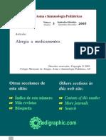Alergias a Medicamentos