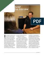 Structured Investigative Interview (FBI 8-Step Model)