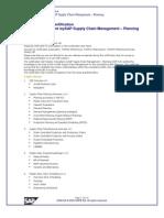 PP(SCM) Consultant Certification Question Bank