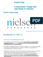 Nielsen Qualitative Recruitment Test- V2- Le Chau Bao