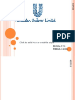 Hindustan Unilever Ppt